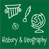 Blog Icon - History & Geography - 200X200
