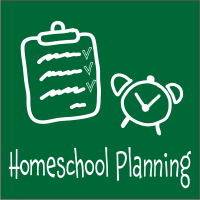 Blog Icon - Homeschool Planning - 200X200