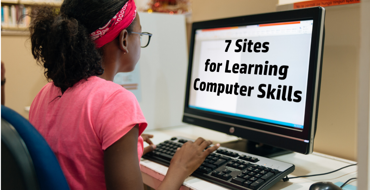 Freebie Friday - 7 Sites for Learning Computer Skills
