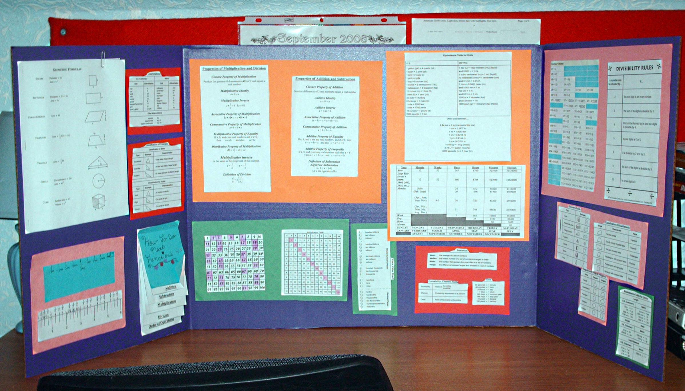 Math Mini-Office