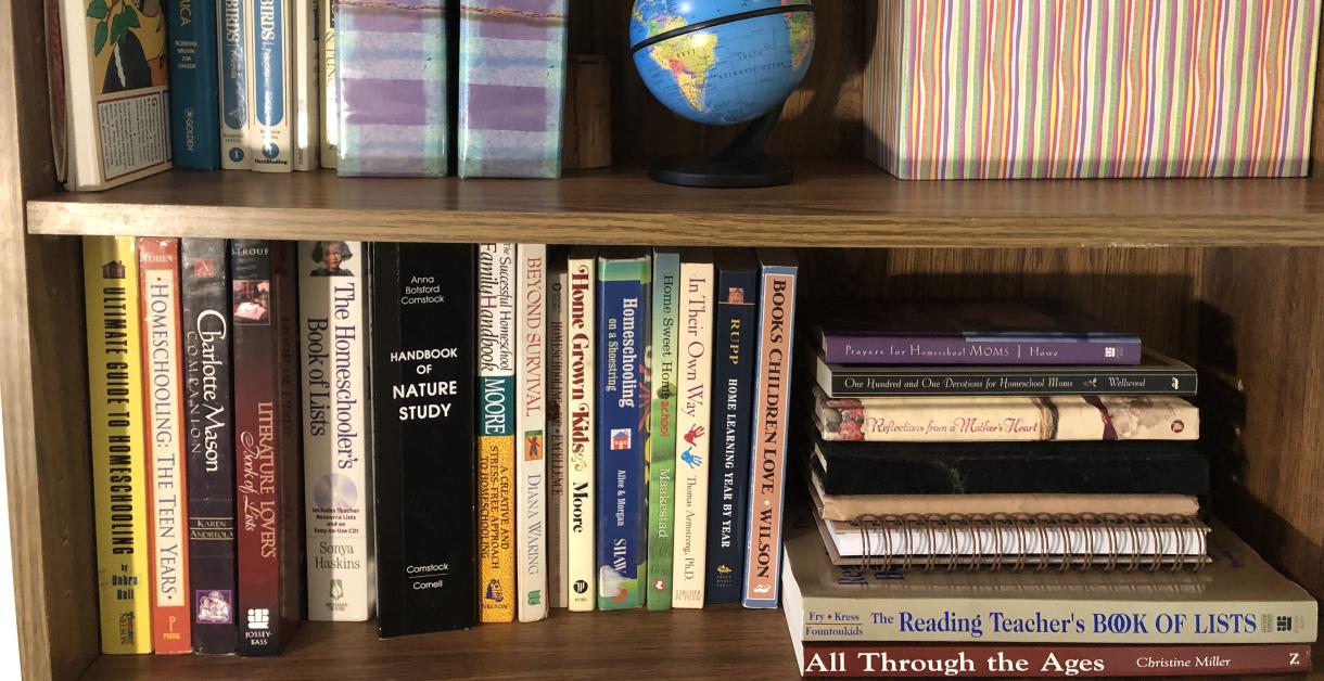 Homeschool-Bookshelf