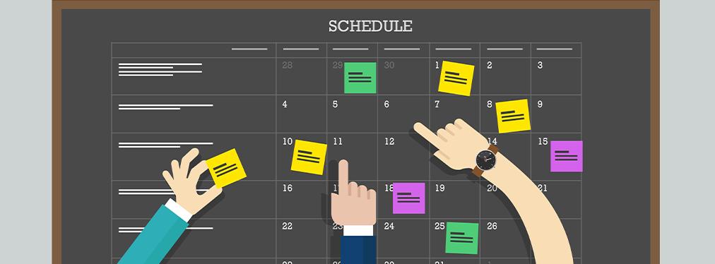 Schedule 1012x384